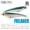 Fish Inc Fullback 190mm Floating Stickbait - versch. Farben