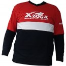 XZOGA V-Neck T-Shirt Long Sleeve - versch. Größen